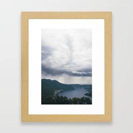 lake como, i Framed Art Print