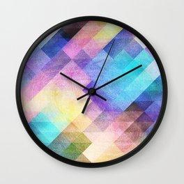 Pattern 10 Wall Clock