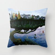 The Actuarium Throw Pillow