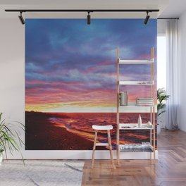 Sunset Saturation Wall Mural