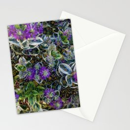 Outside the garden Stationery Cards