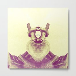 Heart Pedestal Metal Print