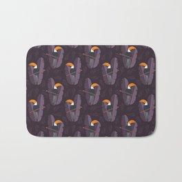 Toucan pattern 002 Bath Mat