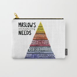 Maslow's Hierarchy of Needs Carry-All Pouch