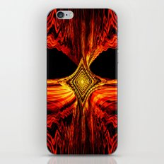 Abstract.Red Flame. iPhone & iPod Skin