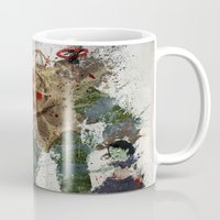 bubbles Mugs featuring Bubbles by Melissa Smith