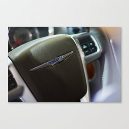 Chrysler Town & Country Limited Steering Wheel Canvas Print