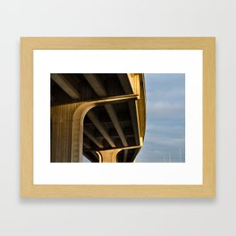 Viaduct Framed Art Print