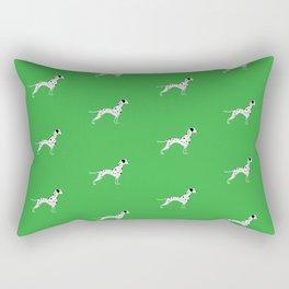 DALMATIANS ((shamrock)) Rectangular Pillow