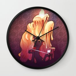 The Candlelight Wall Clock