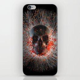 Skull Cinders iPhone Skin