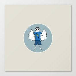 Guardian Angel Stevie Canvas Print