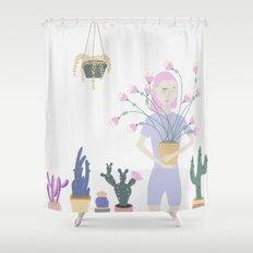 Plantasia Shower Curtain