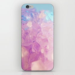 Purple Spiritual Quartz Crystal iPhone Skin
