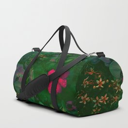 Gathering of Flowers - [Green Version] Duffle Bag