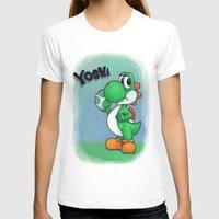 yoshi T-shirts featuring Yoshi by belindazart