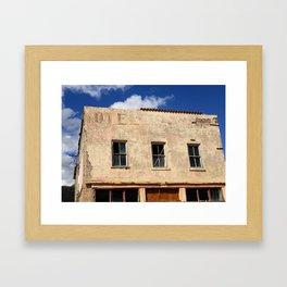 Hotel - Closed for business Framed Art Print