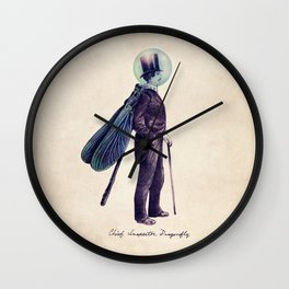 Inspector Dragonfly Wall Clock