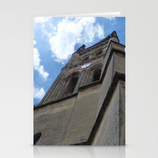 Saint Emilion spire Stationery Cards