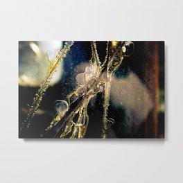 Cracked Metal Print