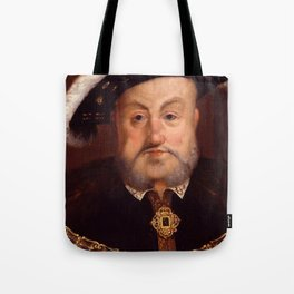 """Hans Holbein the Younger """"King Henry VIII"""" Tote Bag"""