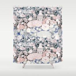 Japanese teahouse Shower Curtain