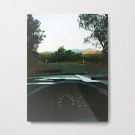 On the Road Metal Print