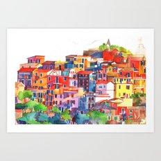 Cinque Terre vol2 Art Print