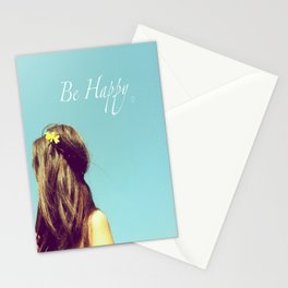 Be Happy Stationery Cards