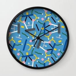 Ashoka Lamp Party Confetti Wall Clock