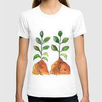 succulents T-shirts featuring Succulents by Gosia&Helena