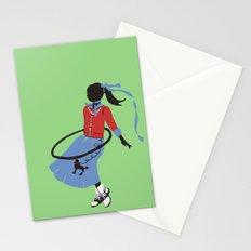 Poodle Skirts, Bobby Socks and Hoola Hoops Stationery Cards