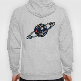 Galaxy Universe - Planets, Stars, Comets, Rockets Hoody