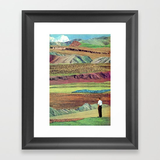 Things You Find in the Wild Framed Art Print
