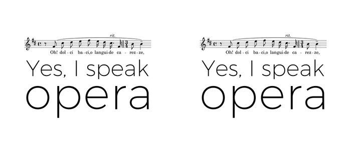 I speak opera (tenor) Coffee Mug