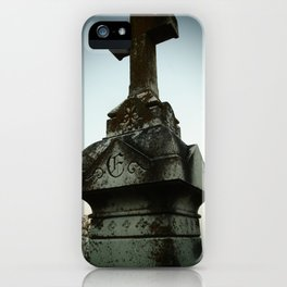 Ancient Cross iPhone Case