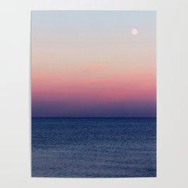 Indigo Horizon Poster