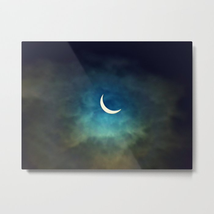 Solar Eclipse 1 Metal Print