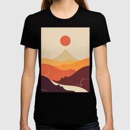 Cat Landscape 87 T-shirt