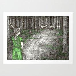 Coming Home Art Print