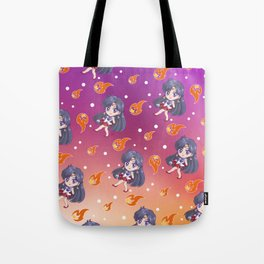 Sailor Mars Pattern Tote Bag