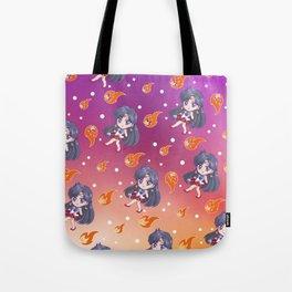 Sailor Mars Pattern Tote Bag
