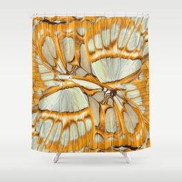 GOLDEN ORANGE – Wing Series Shower Curtain