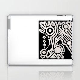 Frieze, Acrylic on Canvas Laptop & iPad Skin