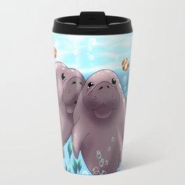 Manatee & Baby Travel Mug