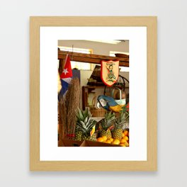 Frutas Framed Art Print