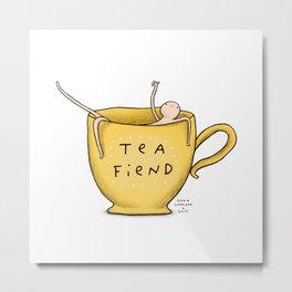 Honest Blob - Tea Fiend Metal Print