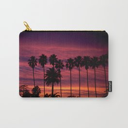 Sunset over Hollywood Carry-All Pouch