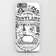 Maryland Crabs & Beer Slim Case iPhone 6s