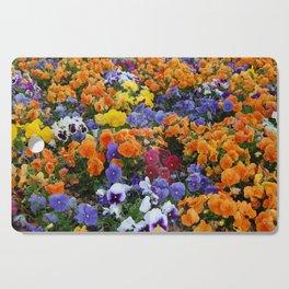 Pancy Flower 2 Cutting Board